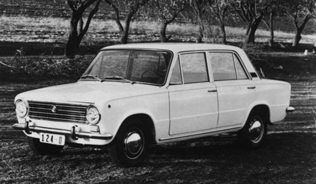 Seat 124 D, una coche legendario en la historia de la marca española