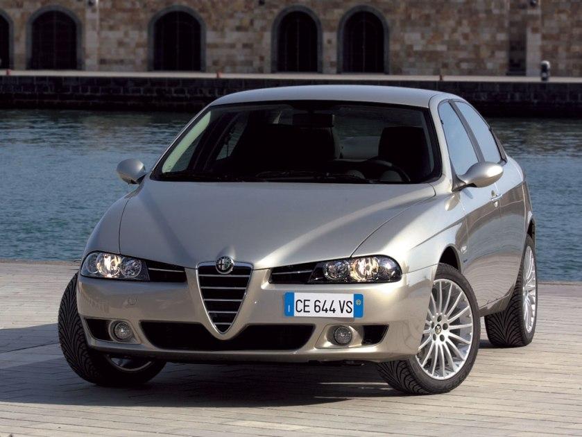 Alfa 156, el modelo que devolvió al primer plano a Alfa Romeo