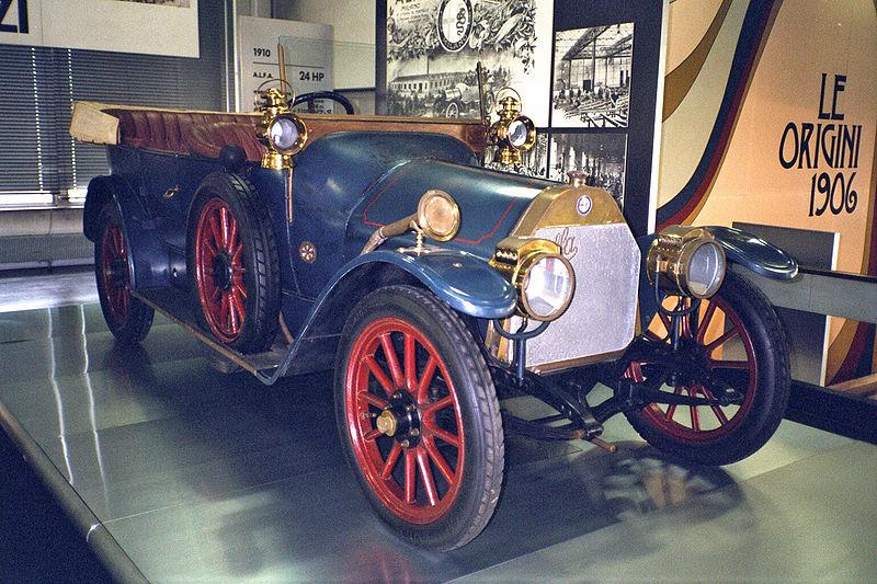 Alfa 24 HP, el primer Alfa Romeo de la historia