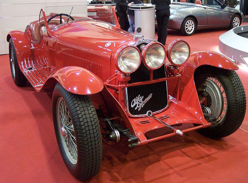 Alfa Romeo 8C 2300, uno de los primeros campeones de la historia