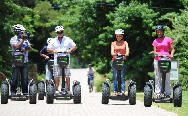 Un accidente de Segway acaba con la vida de James Heselden