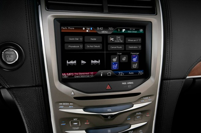MyFord Touch, el sistema de entretenimiento de Ford basado en Windows