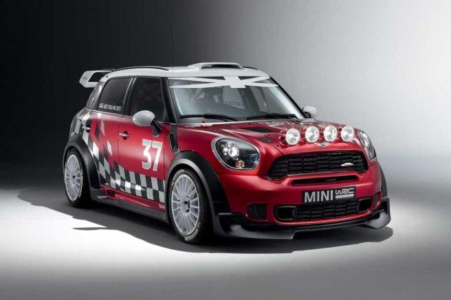 Imponente la estampa del nuevo Mini Countryman WRC
