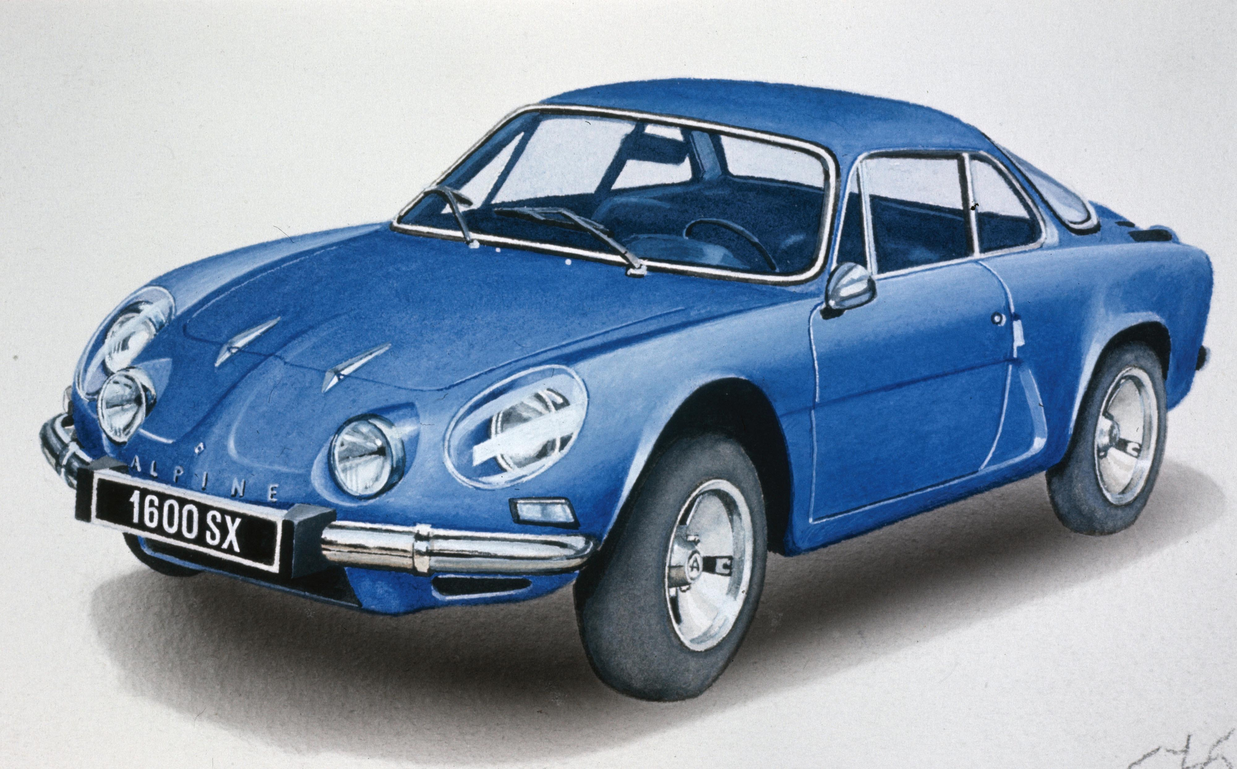 el renault alpine a110 cumple 50 a os el cuentakil metros. Black Bedroom Furniture Sets. Home Design Ideas