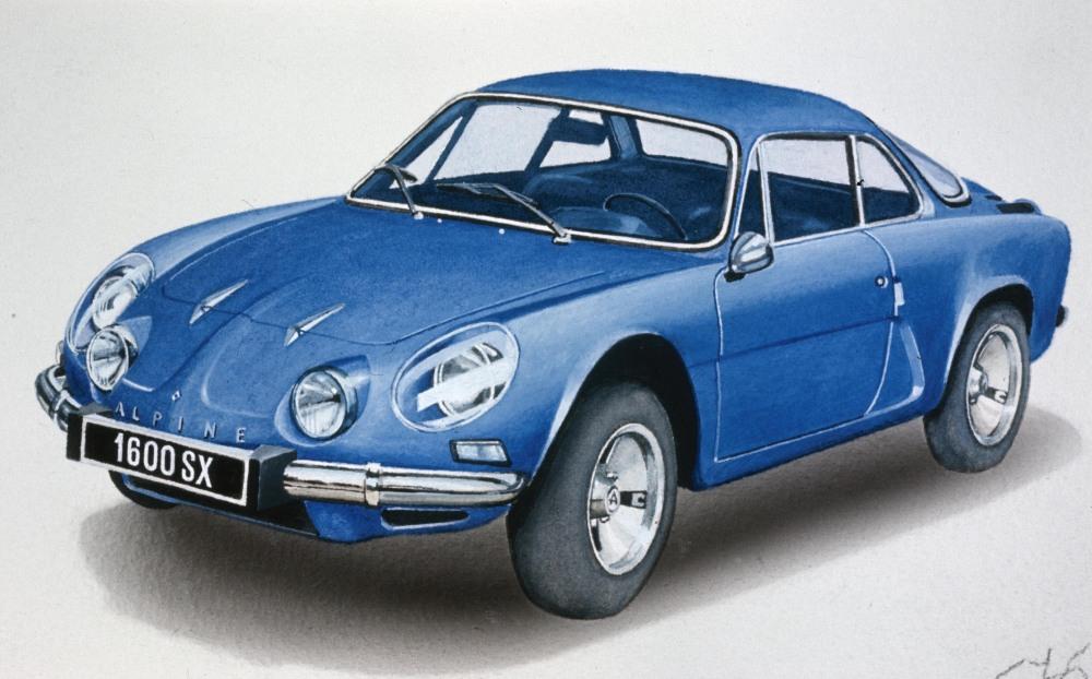 El Renault Alpine A110 cumple 50 años (1/3)