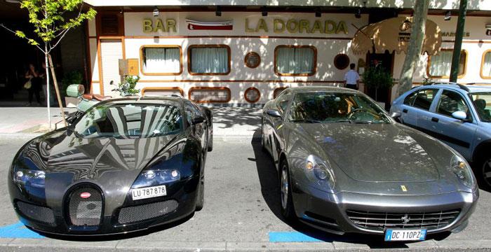 Imagen del día: Roberto Carlos y su nuevo Bugatti Veyron (2/2)