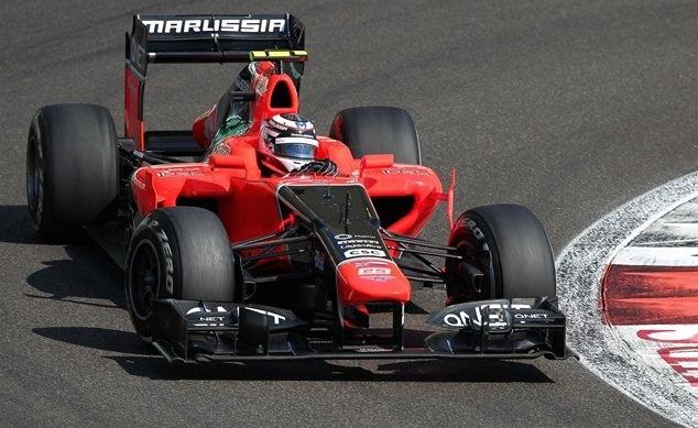 Max Chilton, a bordo del Marussia el pasado GP de Abu Dhabi