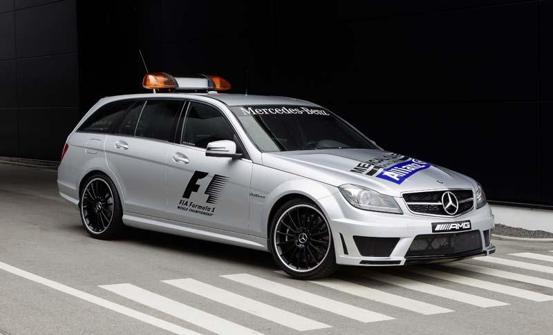 Mercedes AMG Clase C Familiar, el actual coche médico de la Fórmula 1