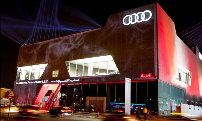 Weltweit groesster Audi terminal in Dubai eroeffnet/Ingolstadt, 22. November 2012