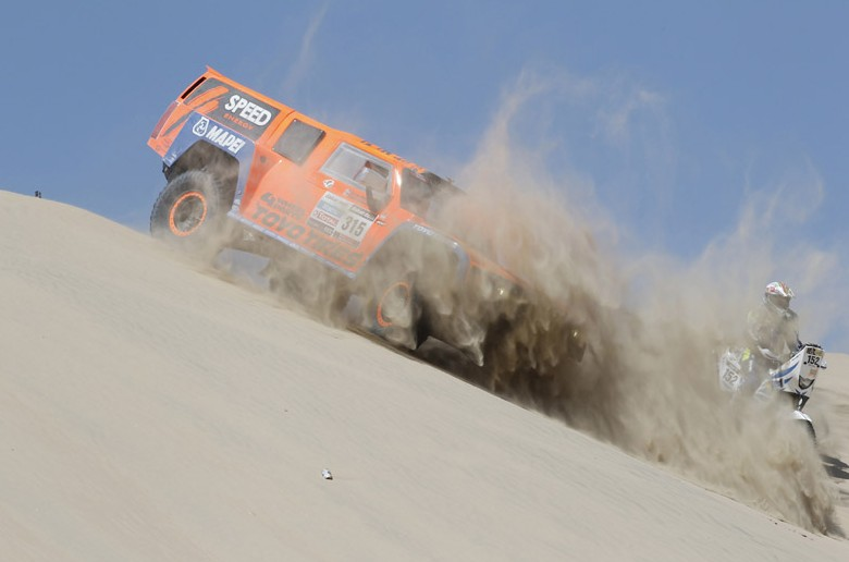 Se presenta el Rally Dakar 2014 con la incorporación de Bolivia como novedad  (2/2)