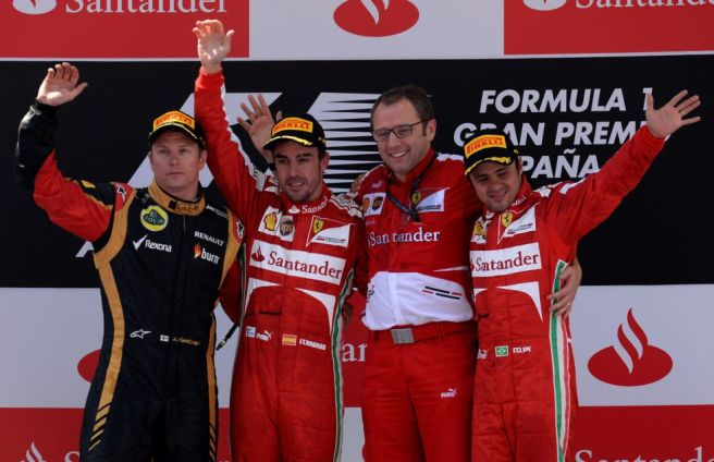 GP-España-Podium
