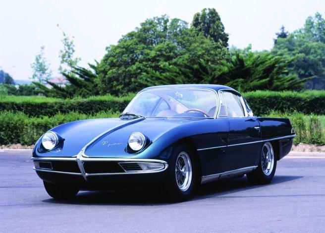 Lamborghini 350 GTV, el primer modelo de la marca