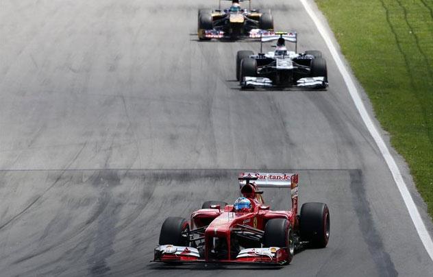 Fernando Alonso, protagonista de una gran remontada hoy en Montreal