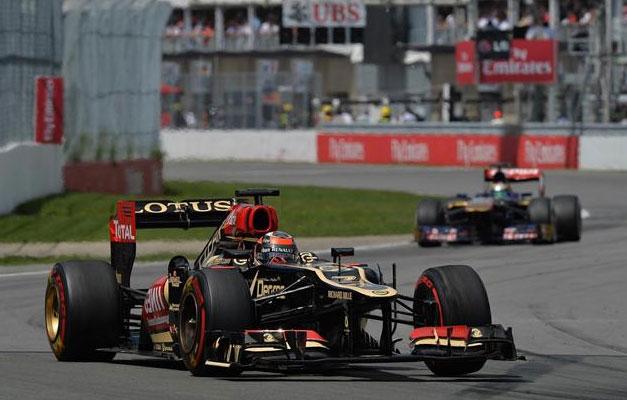 No ha sido hoy el día de Kimi Raikkonnen ni el de su equipo