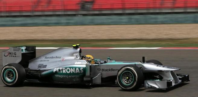 Mercedes-test-f1