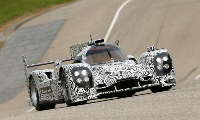 Imagen del nuevo Porsche LMP1, el futuro coche de Mark Webber