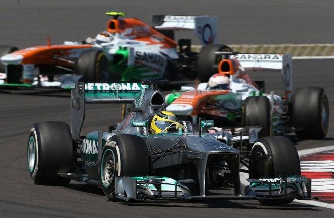 Nico Rosberg hoy no ha podido brillar como se esperaba