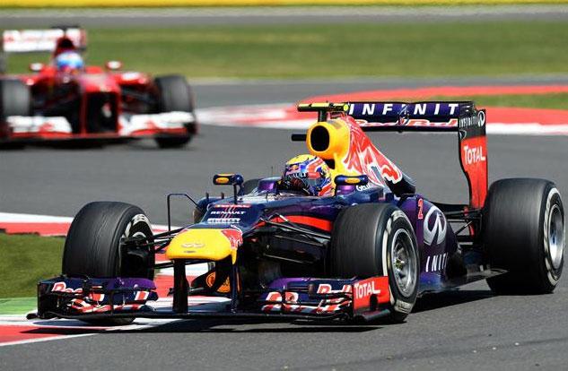 Magnífica carrera de Mark Webber, protagonizando una gran remontada