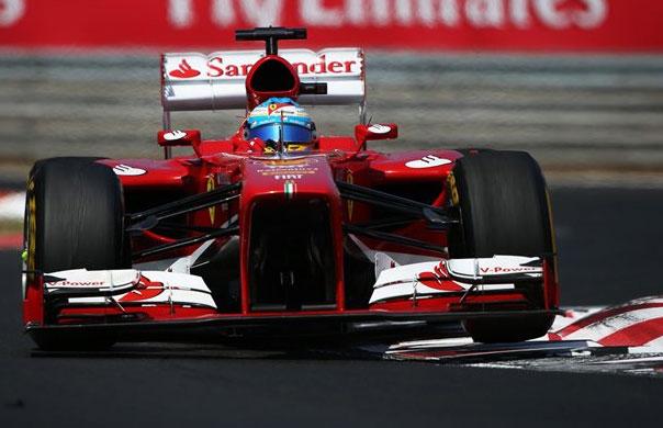 Fernando Alonso no pudo pasar del quinto puesto Fernando Alonso no pudo pasar del quinto puesto
