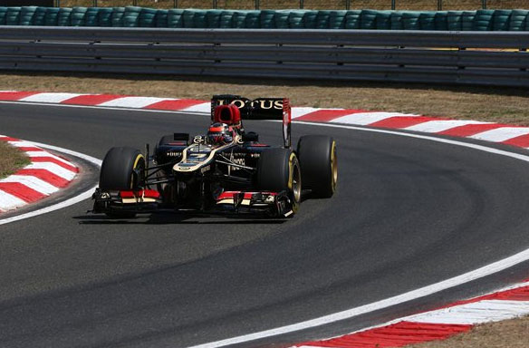 Excelente carrera de Kimi Raikkönen en Hungaroring