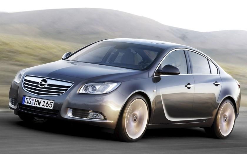 El Opel Insignia, llamado a revisión extraordinaria