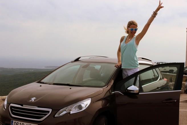 María León, nueva embajadora del Peugeot 2008