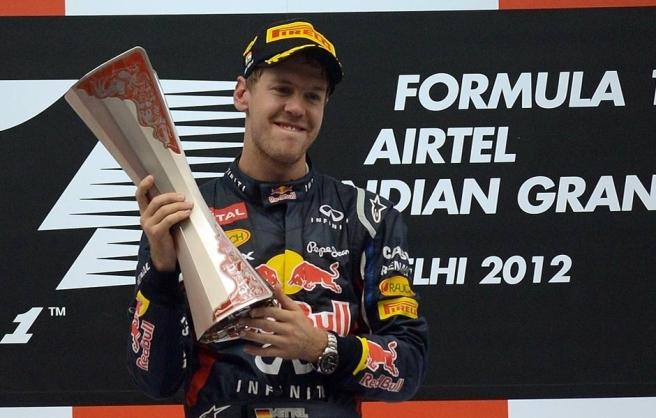 Sebastian Vettel, ganador de las dos ediciones disputadas del GP de la India