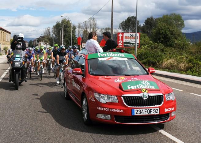 Skoda, un año más, coche oficial de la Vuelta a España