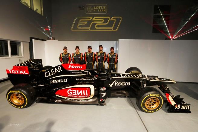 El equipo Lotus, en graves problemas financieros