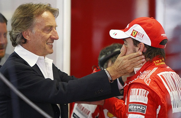 Se enturbian las relaciones entre Fernando Alonso y Luca de Montezemolo