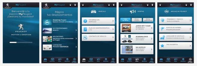MyPeugeot, para tener a mano toda la información del coche