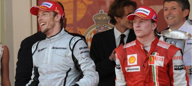 Jenson Button cierra las puertas de McLaren a Raikkönen