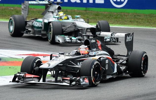 Excelente fin de semana para Hulkenberg y su Sauber