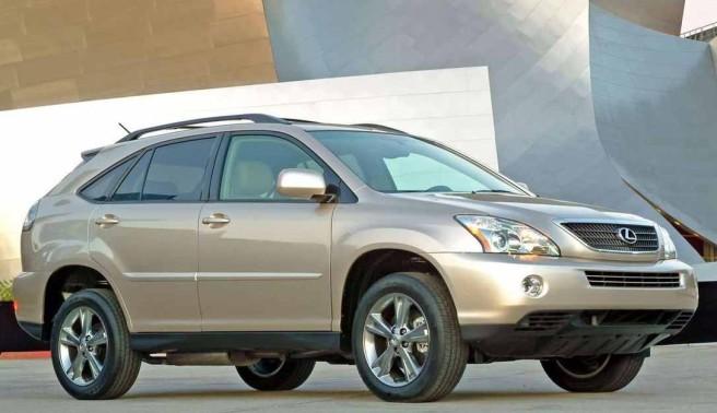 Llaman a revisión a los Lexus RX 400h entre 2004 y 2011