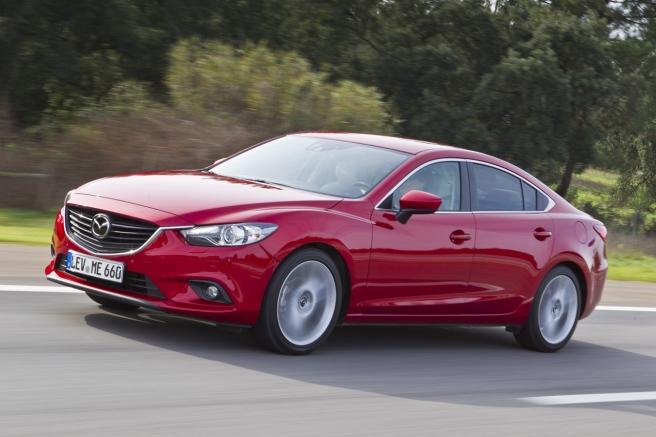 El nuevo Mazda6, distinguido con cinco estrellas Euro NCAP