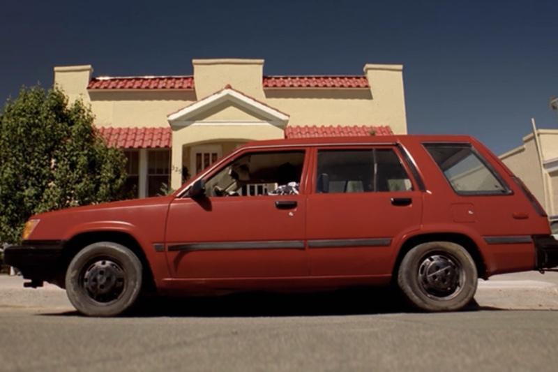 Toyota Terce 4WD de1986 perteneciente a Jesse Pinkman