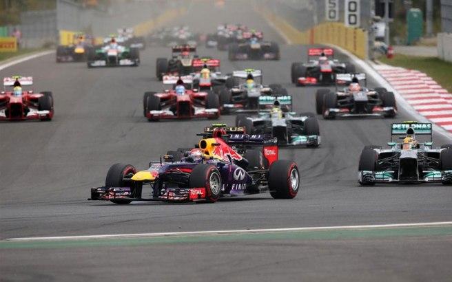 Sebastian Vettel lideró todas y cada una de las vueltas del GP