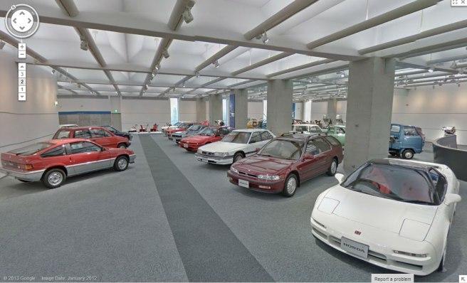 Google Street View y Honda nos acercan el Honda Collection Hall