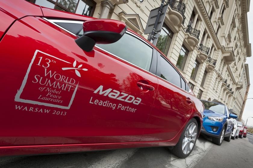 Mazda, coche oficial de la Cumbre Anual de los Premios Nobel de la Paz