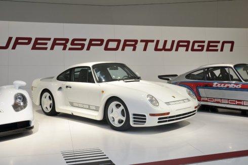 El Porsche 959 S tampoco podía faltar a la exposición