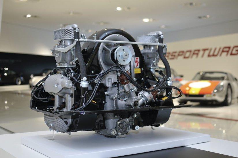El famoso Motor Fuhrman que propulsó el mítico 550 Spyder