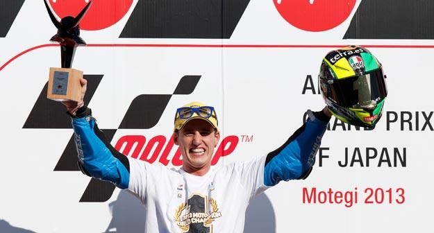 Pol Espargaró, feliz tras su victoria en el GP de Japón
