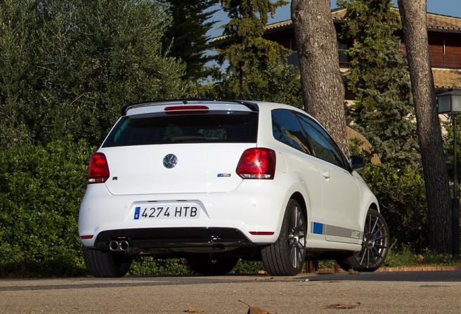 El Polo R WRC se diferencia fácilmente del resto de la gama