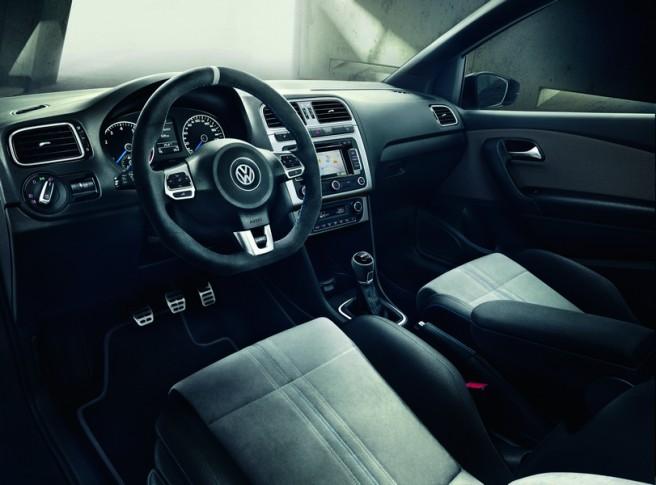Un interior ciertamente lujoso y exclusivo para el Polo R WRC