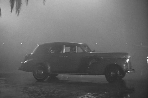 El famoso Buick Phaeton en un fotograma de la película