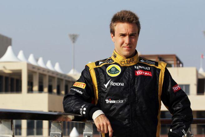 Davide Valsecchi, aspirante a ocupar el sitio que deja vacante Kimi Raikkönen
