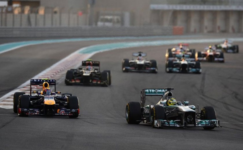 Nico Rosberg rayó a gran altura y logró su segundo podium consecutivo