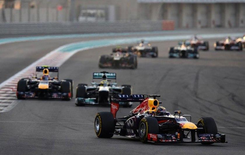 Sebastian Vettel, dominador de principio a fin de la carrera
