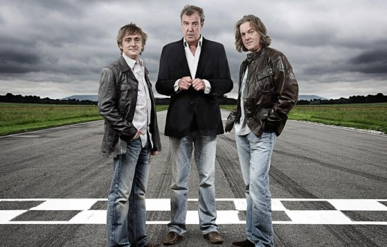 Jeremy Clarkson y Richard Hammond, junto a James May