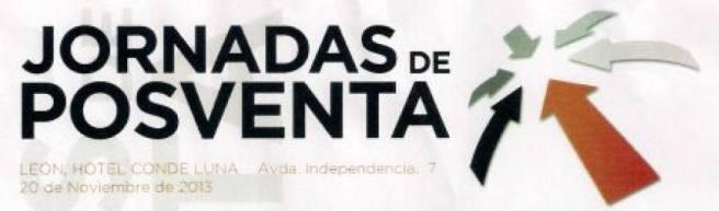 Cartel de la I Jornada de Postventa celebrada  el 20 de noviembre en León